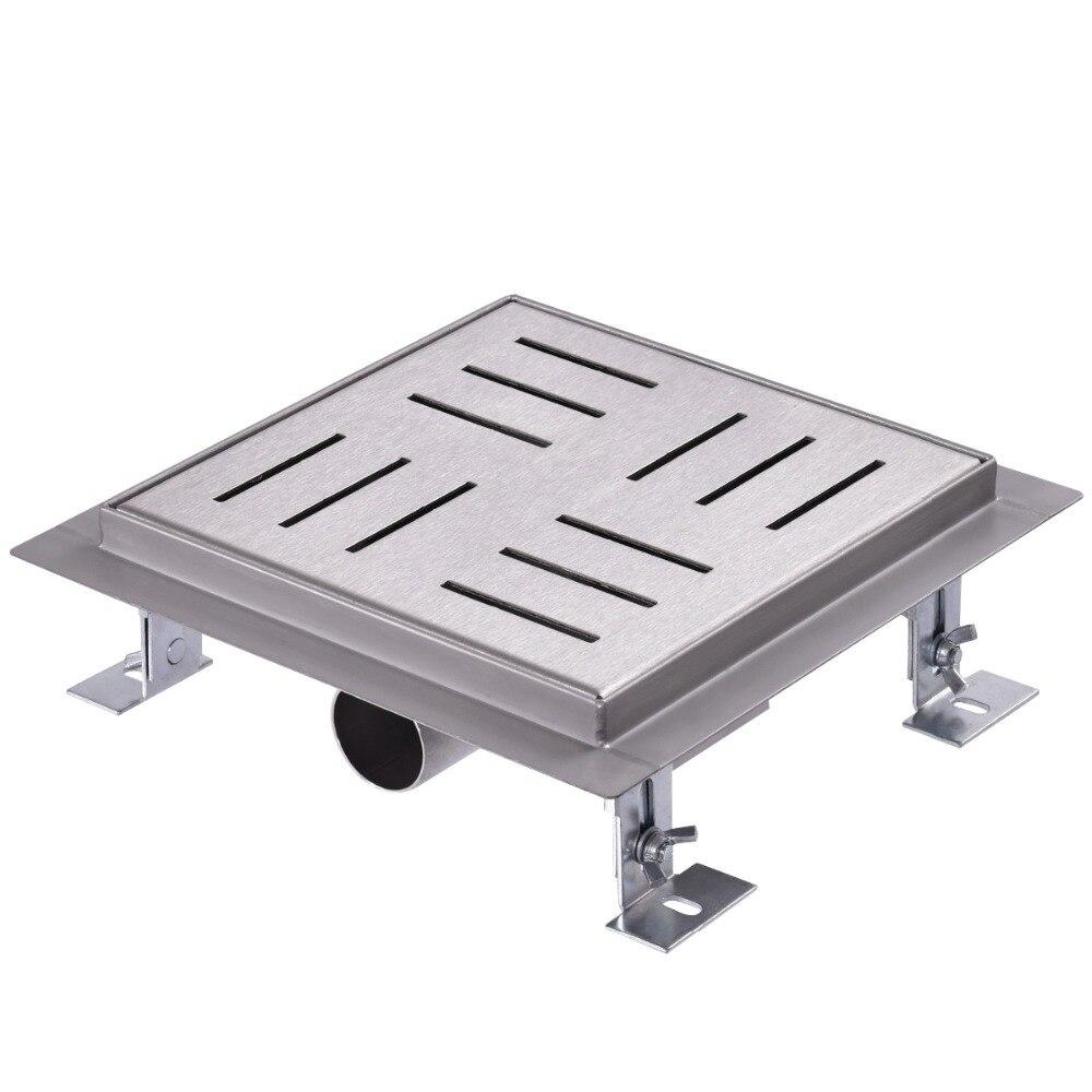 Drenaje de piso de acero inoxydable Drenaje de ducha Drenaje de bodega 120x120mm BA7264Drenaje de piso de acero inoxydable Drenaje de ducha Drenaje de bodega 120x120mm BA7264
