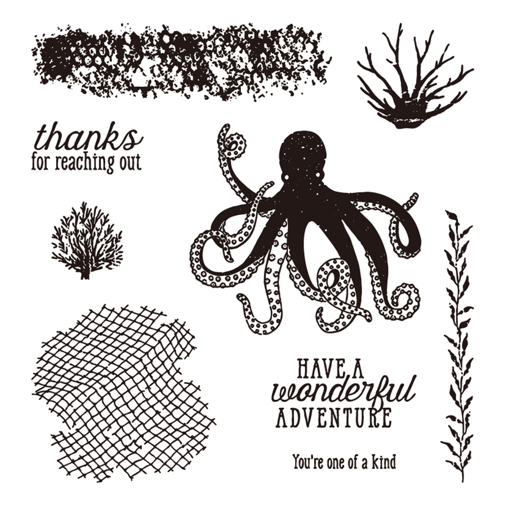 Marine Life Octopus Stamp And Die Cut Metal Cutting Dies Stencil For DIY Scrapbooking Card Photo Seals Craft Embossing In From Home
