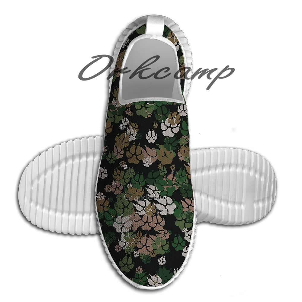 Canine Camo WOODLAND Light Weight fashion Sports Running Shoes