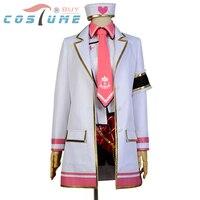 LoveLive! miłość Żywo Rin Hoshizora Pielęgniarki Jednolite Biały Strój Marynarkę Anime Halloween Cosplay Costume Custom Made