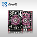 1Pcs A-GLO Red Or Green Deck Bicycle Playing Cards Poker Size USPCC Custom Limited Ed New Sealed Magic Deck Props Magia Tricks