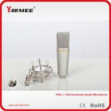 Последние yarmee проводной XLR конденсаторный recoring музыкальная микрофон YR02 для студии караоке микрофон