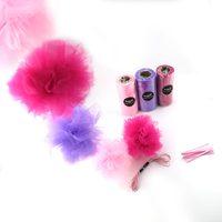 1 satz Pom Poms Spool Tüll Blume Stoff Rolle Hochzeitsdekoration Partei DIY Zubehör GTA1615 Kostenloser Versand