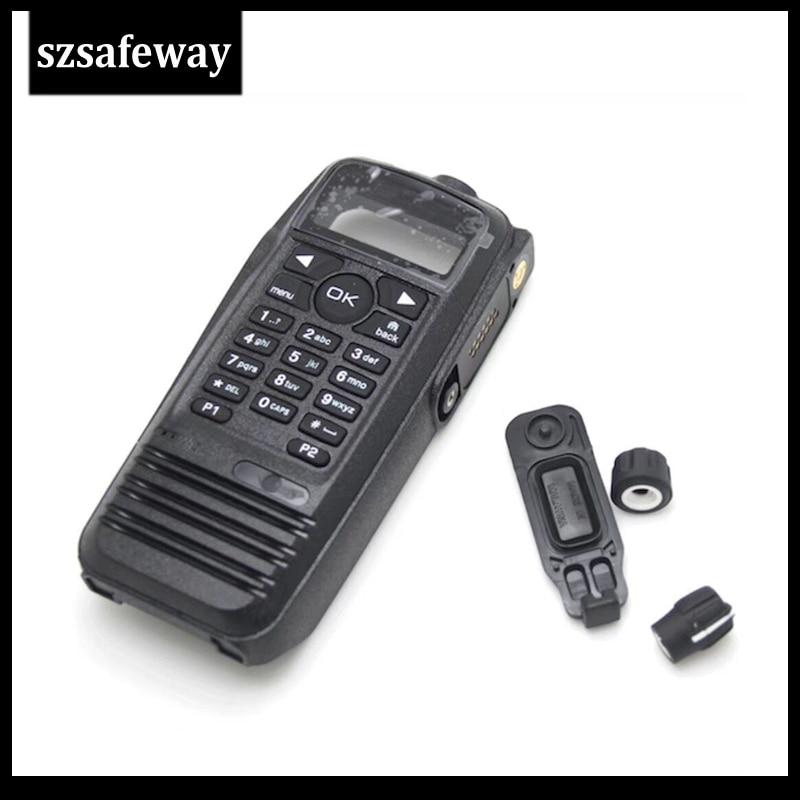 Black Silicone Protective Case Motorola XPR TRBO XPR6550 XPR6580 Keypad Radio