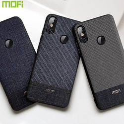 For Xiaomi Mi8 Pro Case For Xiaomi Mi8 Lite Case Mi 8 Back Cover For Xiaomi Mi8 Explorer Case Back Cover Mi8 Dark Business Cloth