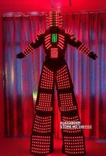 LED robot Costume / LED Costume /LED Clothing/Light suits/ LED Robot suits / david robot