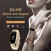 S3 Heart Rate Lady S Smartband Multiple Sports Waterproof Bluetooth Wearable Wristband Steps Calculation Health Smart