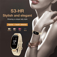 S3 Heart Rate Lady S Smartband Multiple Sports Waterproof Bluetooth Wearable Wristband Steps Calculation Health Smart