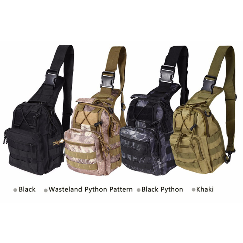 Outdoor Shoulder Military Backpack Climbing Bags Camping Travel Hiking Trekking Bag Cycle Bag 9 Colors24