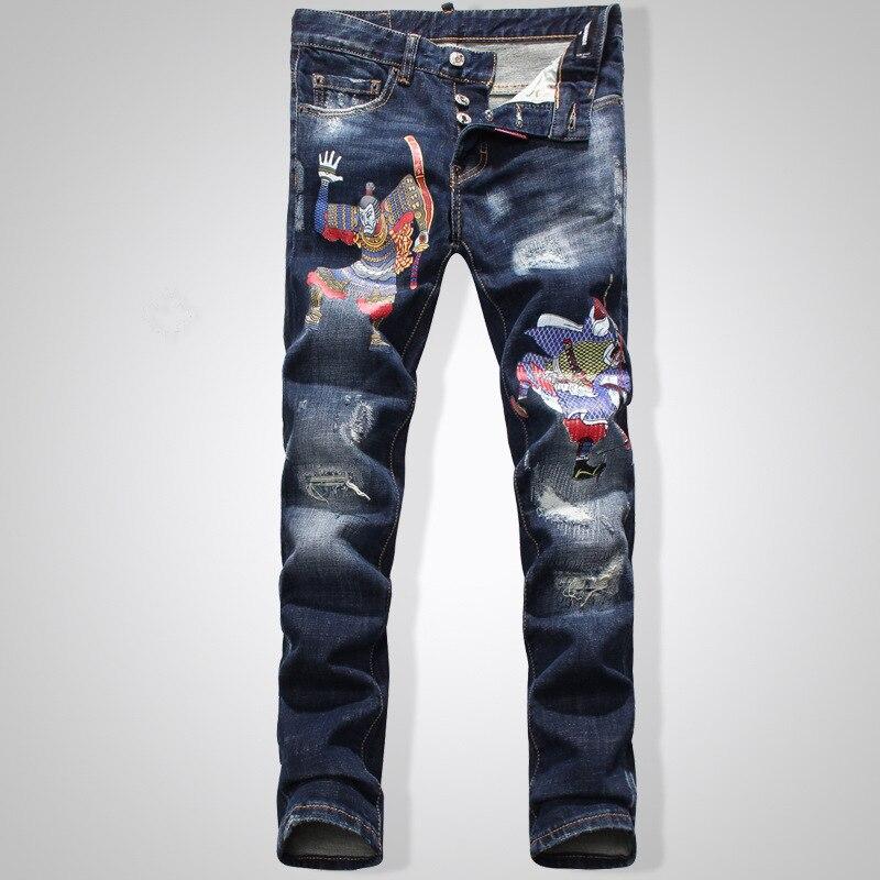 New Arrival Fashion Brand High Quality font b Men s b font Runway Biker Monkey King