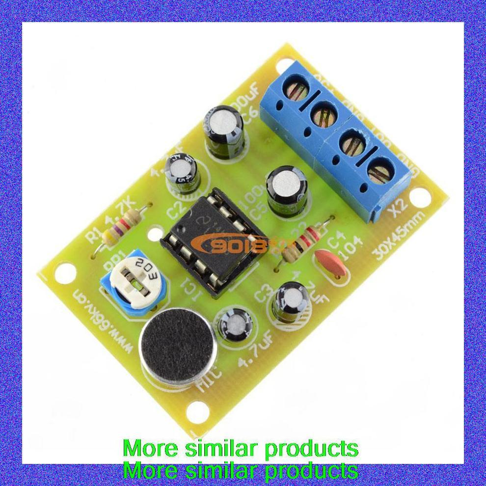 Lm386 Ic Voice Amplifier Audio Circuit Board Parts Electronic Production Suite On Alibaba Group