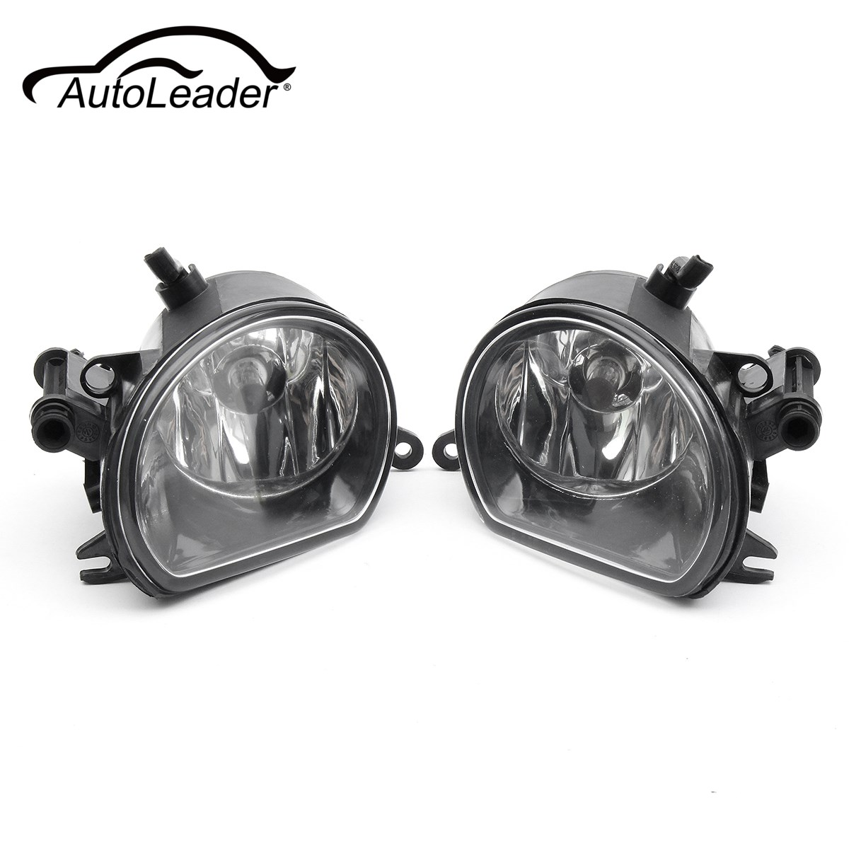 AutoLeader 1 Pair Left Right Clear Front Bumper LED H11 Fog Light Lamps Headlight For AUDI Q7 2010 2011 2012 2013 2014 2015 2pcs pair front lower bumper fog light fog lamps left