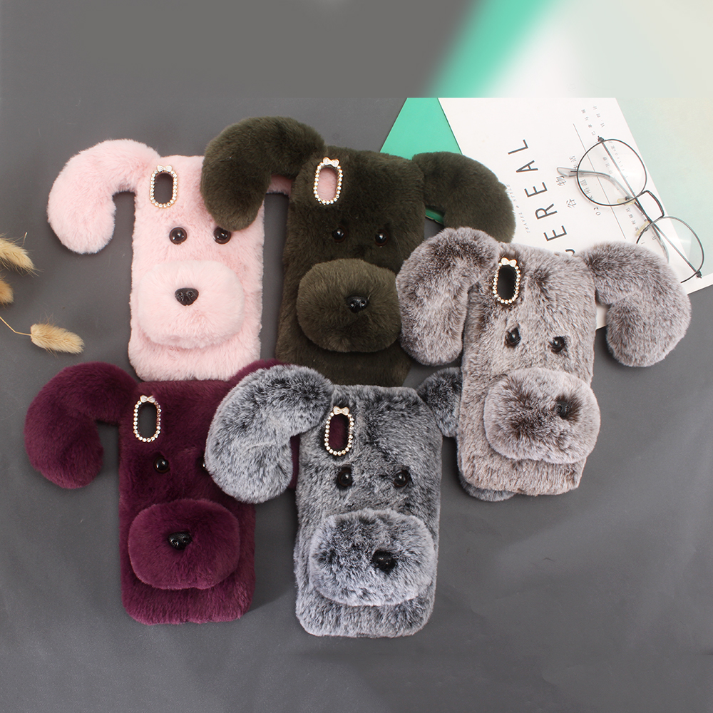 Warm Fur <font><b>Cases</b></font> For <font><b>Nokia</b></font> 1 2 <font><b>3</b></font> 5 6 7 8 9 2018 2.1 <font><b>3</b></font>.1 5.1 7.1 6.1 8.1 2018 X3 X5 X7 X6 Plus Cute <font><b>Dog</b></font> Cover image