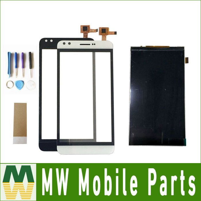 1PC/ Lot For Prestigio Muze C3 PSP3504Duo PSP3504 Duo Seperate Touch Screen And Lcd Display Digitizer 4 Color with tools+Tape