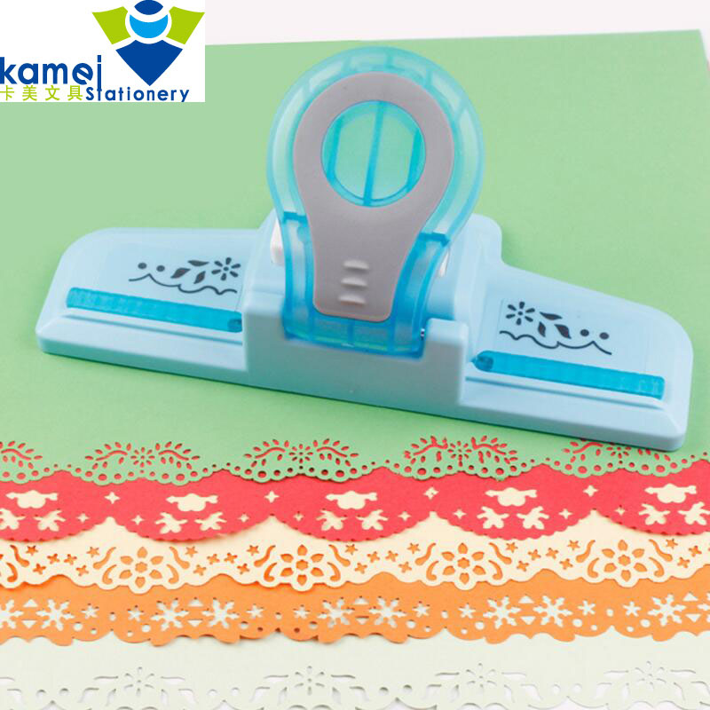 Large Fancy border embossing punch scrapbooking handmade edge device DIY paper cutter Craft gift perforadora de papel YH30
