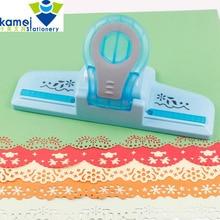 Perforadora de relieve de bordes grande, dispositivo de borde hecho a mano para scrapbooking, cortador de papel artesanal, manualidad para regalo perforadora de papel YH30