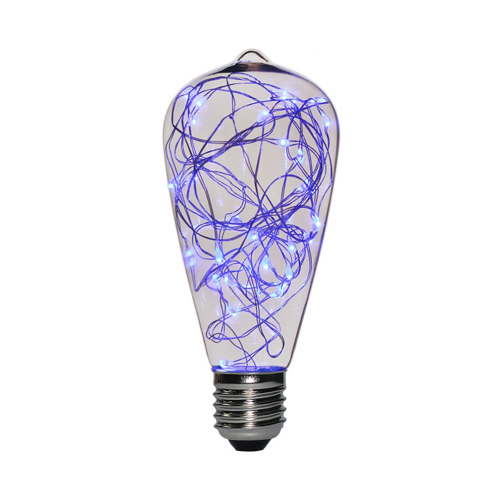ICOCO ST64 E27 High Transmittance 25 LED Light Bulb Non-dimmable Clear Glass Copper Wire Stringlights Bulb 220V 2W New