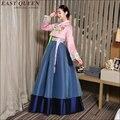 Корейский традиционный платье 2016 новые поступления ханбок корейский традиционный ханбок корейский платье корейской традиционной одежды AA1562z
