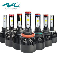 NAO H7 Led Headlights H4 LED Bulb Car H11 H1 H3 HB4 HB3 9005 9006 H27