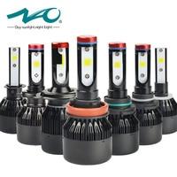 NAO H7 Led Headlights H4 LED Bulb Car H11 H1 H3 HB4 HB3 9005 9006 H27