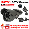 Hot Style Metal Mini 1 3cmos 1200TVL HD CCTV Security Surveillance Color Small Ahdl Camera Infrared