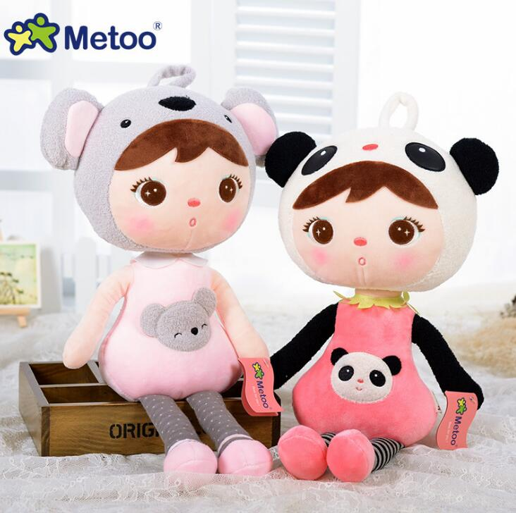 Metoo Doll Plush Sweet Cute Stuffed Brinquedos Backpack Pendant font b Baby b font Kids Toys