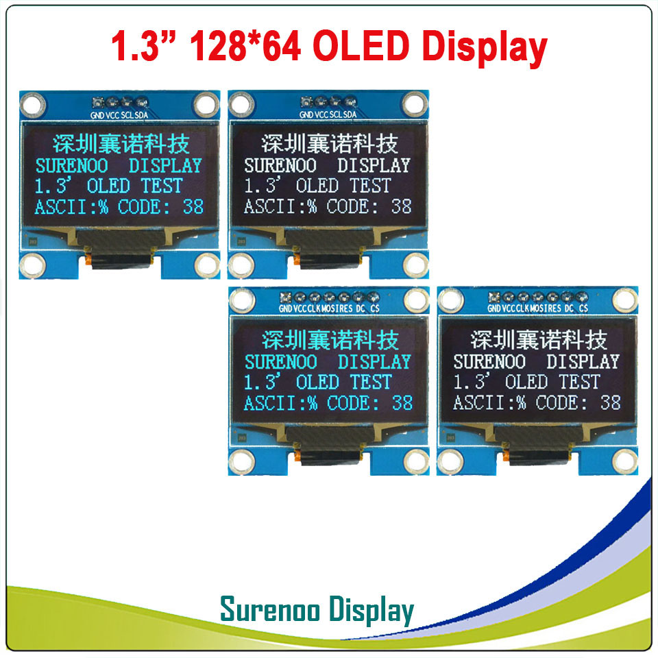 Real OLED Display, 1.3