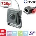 Vanxse CCTV 1.0MP 1280X720 P Mini Cámara Cámara de Vigilancia de Seguridad de Red IP