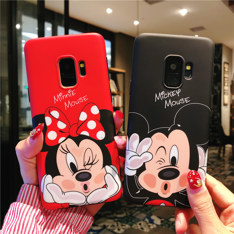 Sam S9 S9plus minnie Case, Daisy / Mickey / Duck Soft back phone cover Case for Samsung Galaxy S8 S8plus Note8 Cute cover