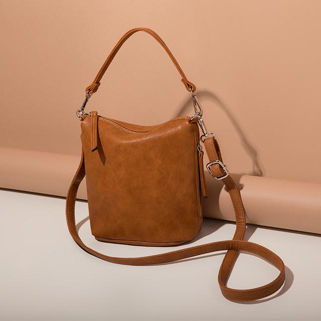 AMELIE GALANTI Women's Shoulder Bags with Zipper Soft PU Leather Women Bags Fashion Shoulder & Handbags Lady Crossbody Bags