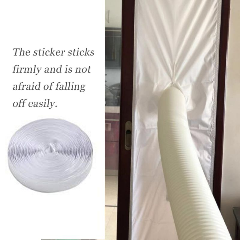 Collection Here 2/3/4m Mobile Air-conditioning Soft Cloth Board Airlock Window Sealing For Mobile Air Conditioners And Exhaust Air Dryers