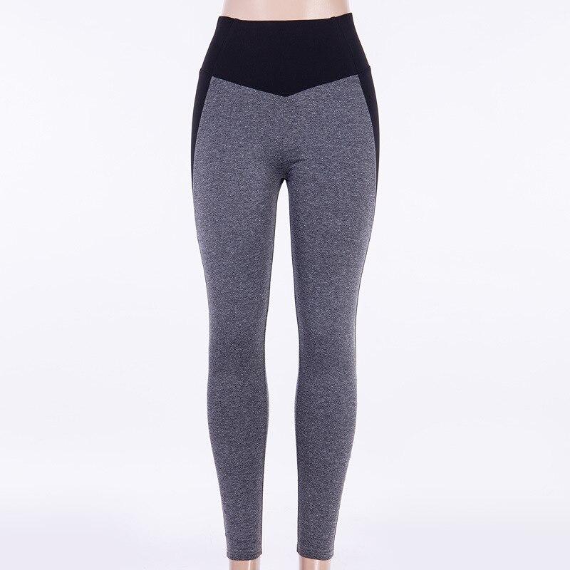 Image 3 - NORMOV Fashion Patchwork Women Leggings High Waist Elastic Push Up Spandex Ankle Length Legging Causal Leggings Fitness Female-in Leggings from Women's Clothing