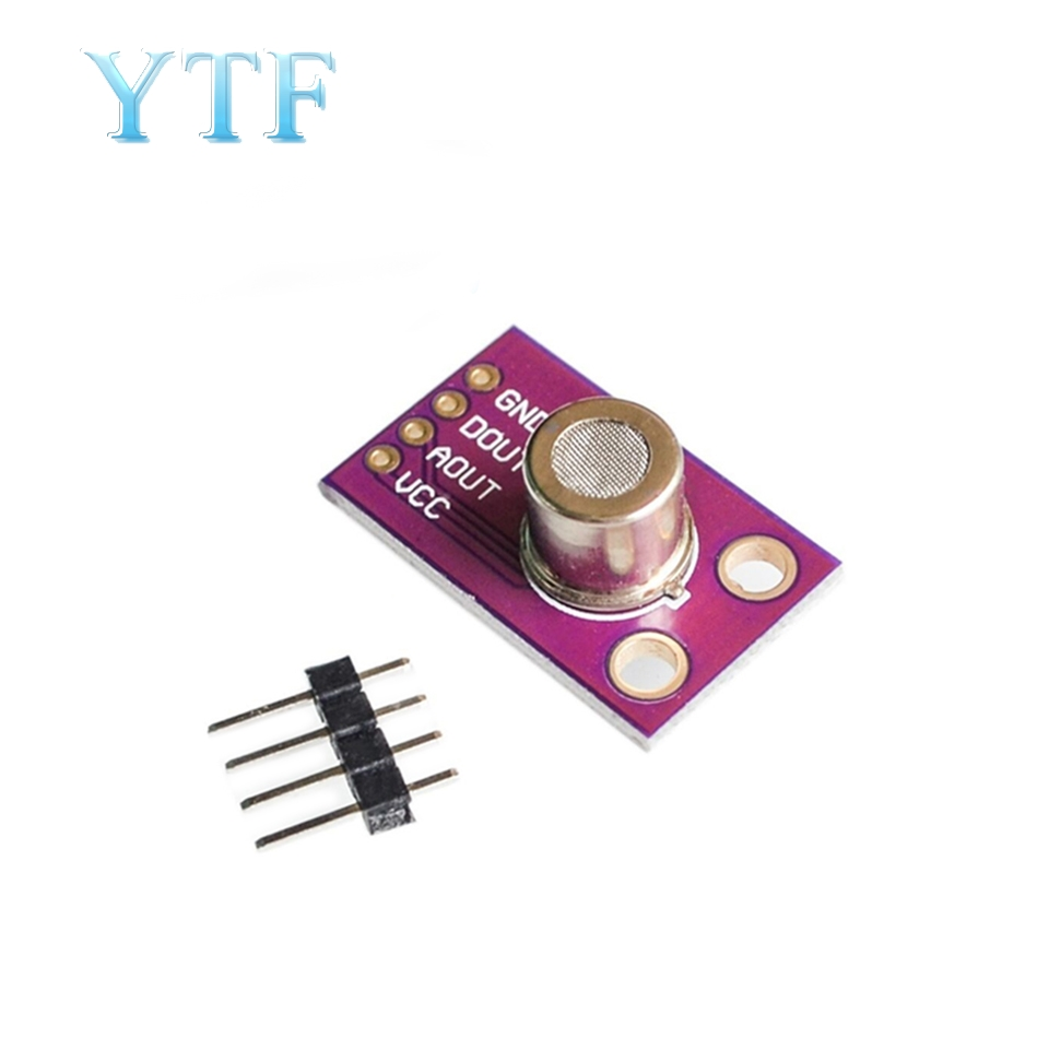 CJMCU-1100 MS1100 MS-1100 VOC Gas Sensor Module Formaldehyde Benzene Concentration Gas Induction 100mA Breakout For Arduino