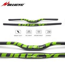 Ullicyc  Carbon Mountain Bike Bicycle Handlebar  Carbon Handlebar MTB 3k Glossy Green 31.8*600/640/660/680/700/720mm  CB186