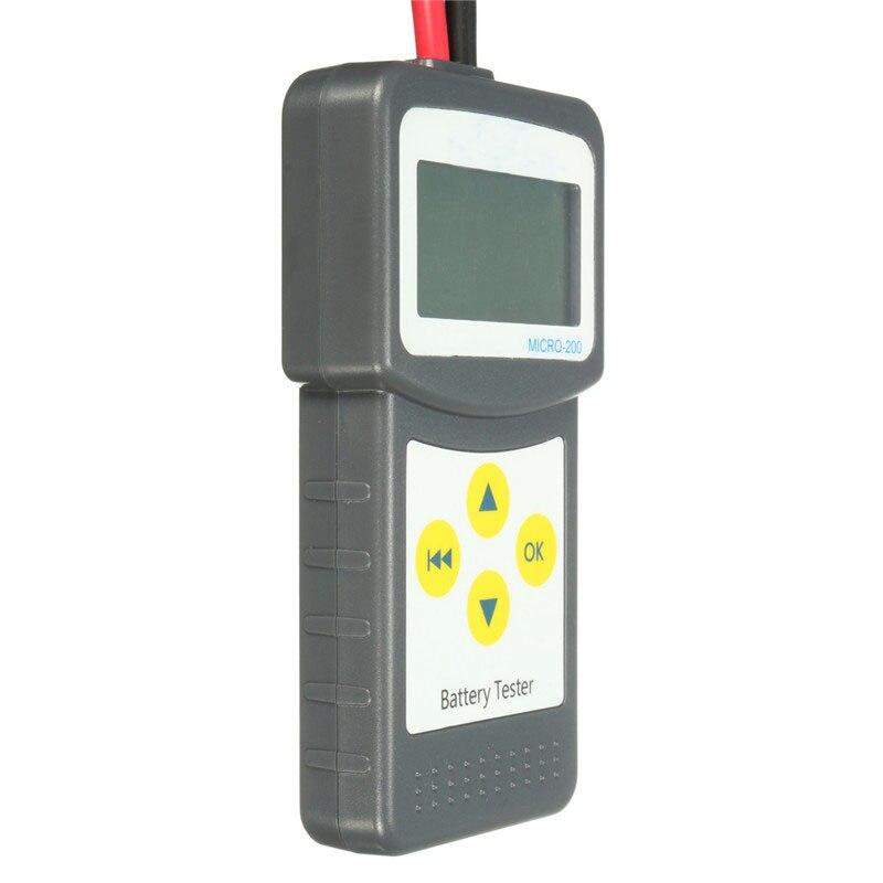 Qualité Durable d'instruments électriques d'analyseur de batterie de véhicule des véhicules à moteur d'appareil de contrôle de batterie de voiture d'abs 12 V - 3