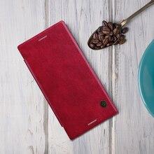 NILLKIN для Sony Xperia XZ Премиум Case чехол бумажник 5.5 »Винтаж Qin флип Искусственная кожа жесткий пластик Back Cover XZ Премиум capa