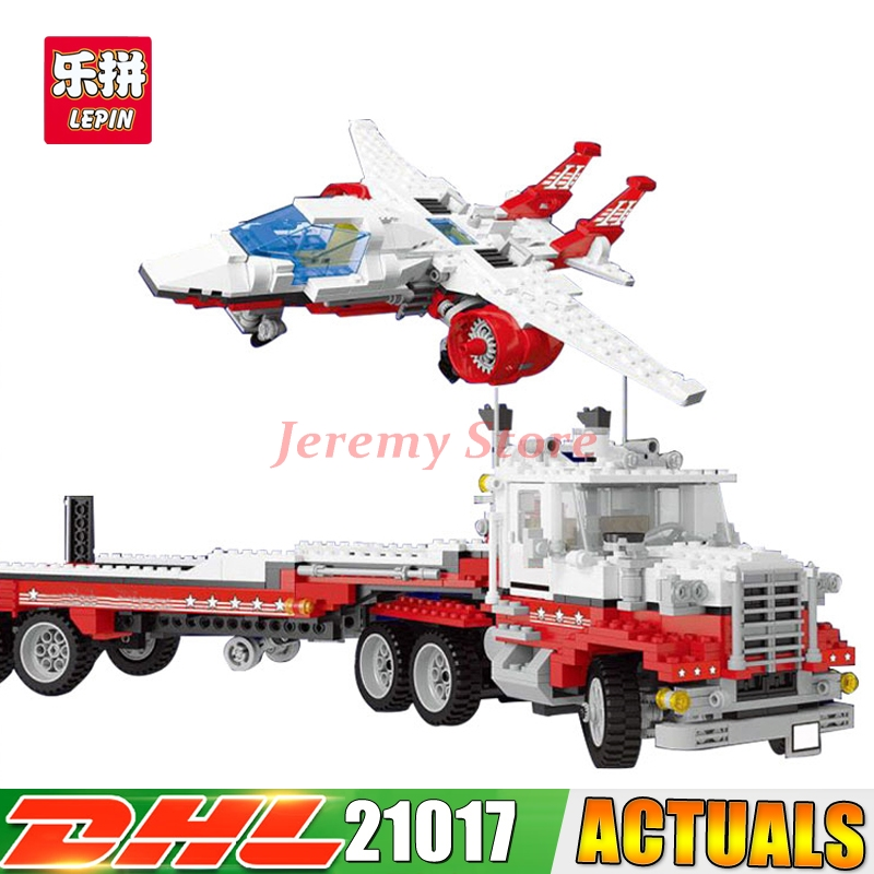 2018 LEPIN 21017 1206Pcs Genuine Model Series The Mach II Red Bird Rig Set Children Educational Building Blocks Bricks Toys compatible legoe genuine model series 5591 lepin 21017 1206pcs mach ii red bird rig building blocks bricks toys for children