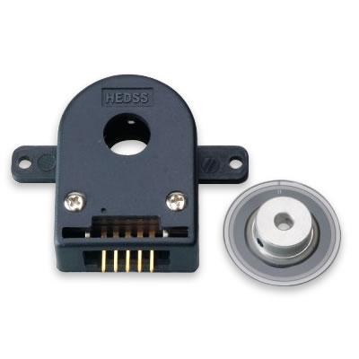Pour la sortie de tension de ligne de HKT30-308-256 d'encodeur rotatoire fendu de moteur servo 5 V