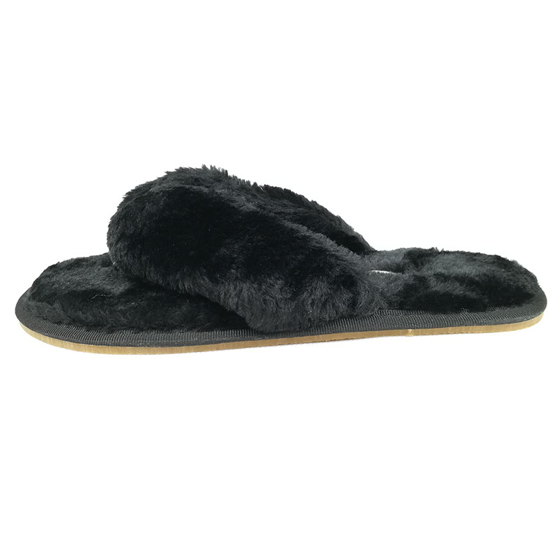 FAYUEKEY 2020 New Fashion Spring Summer Winter Home Cotton Plush Slippers Women Floor Flip Flops Zapatos De Mujer Flat Shoes 5