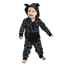 Kaiya Angel 2017 Christmas Wholesale Baby Newborn Girl Boy Hoodie Suit Outfit Fall Winter Boutique Clothing Factory wholesale