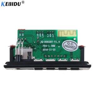 Image 5 - Kebidu ไร้สาย Bluetooth 5.0 AUDIO USB TF วิทยุ FM 5V 12V MP3 WMA ถอดรหัสคณะกรรมการ MP3 พร้อมรีโมทคอนโทรล