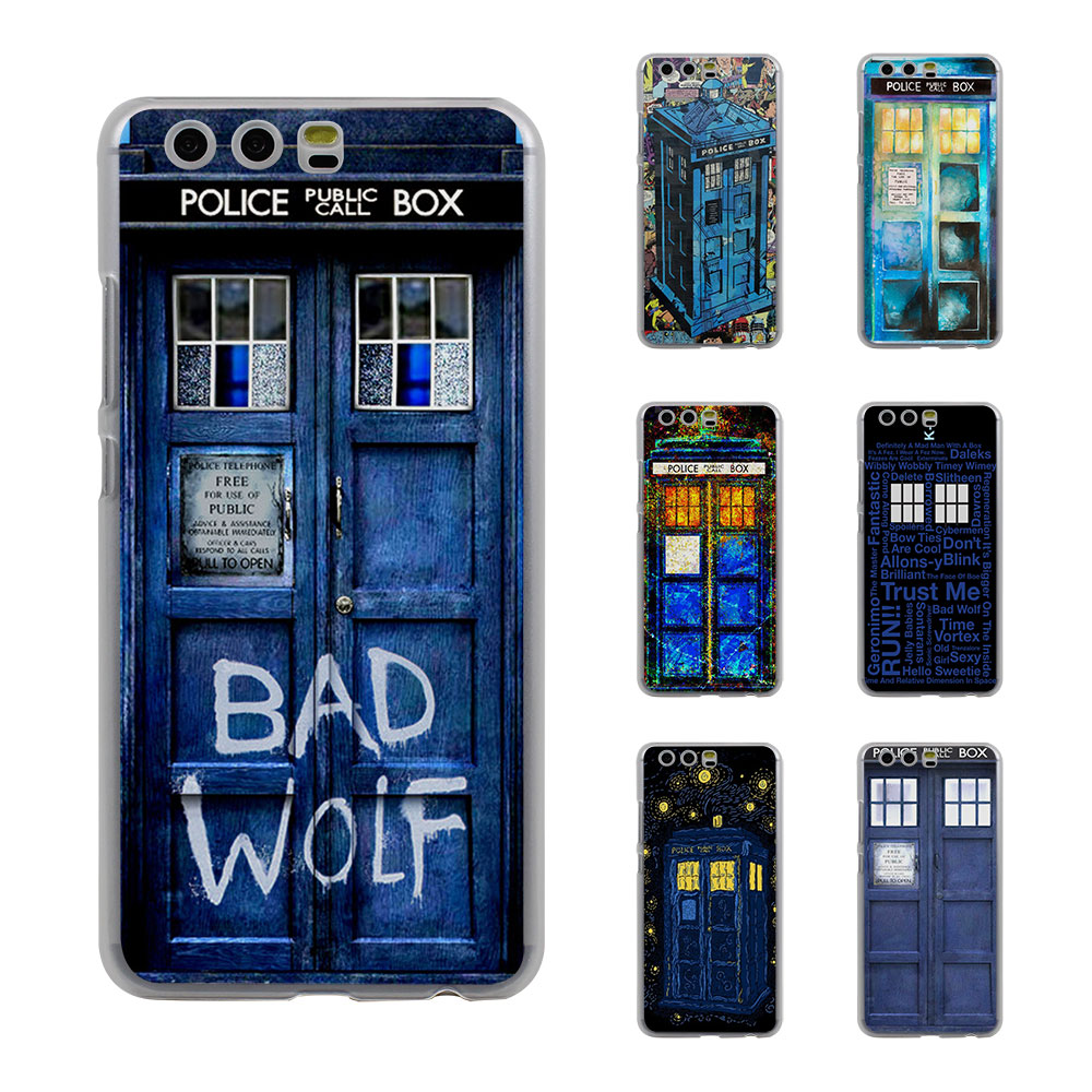 Phone Bags & Cases Half-wrapped Case Accessories Phone Cover For Huawei P Smart Mate Y6 Pro P8 P9 P10 Nova P20 Lite Pro Mini 2017 Hot Tardis Doctor Dr Who Police Box