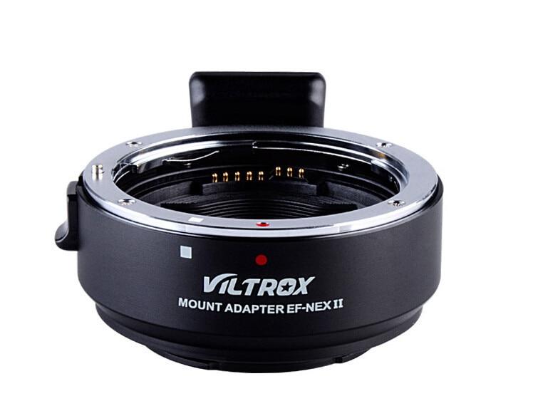 VILTROX EF-NEX II Canon EF Lens To Sony Full Frame NEX Cameras NEX-3N NEX-6 NEX-7 A6000 NEX-5/5N/5R/5T Sony A7 A7R A7M2 Adapter viltrox ef nex ii for canon ef lens to sony nex cameras nex 3n nex 6 nex 7 nex 5 5n 5r 5t sony a7 a7r adapter