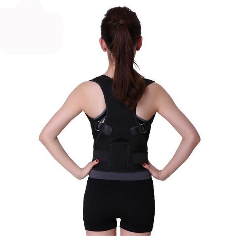 Plus Size Orthopedic Back Support Belt Correct Posture Brace Correcteur de Posture XXL Magnetic Posture Corrector Men
