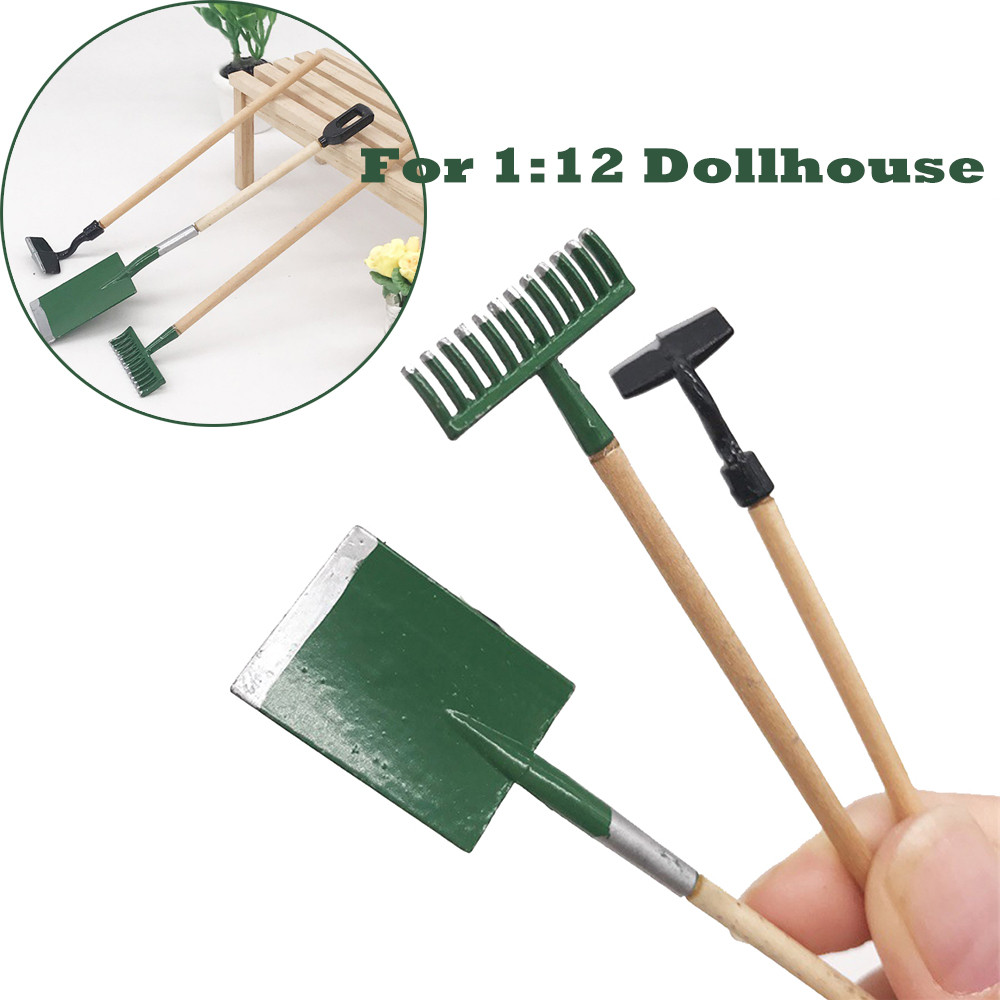 1:12 Dollhouse Miniature Furniture Fishing Rod Sport Outdoor House Line Hook //