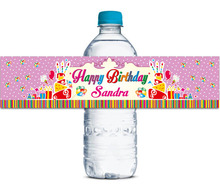 48x Personalized Water Bottle Labels Baby Shower Party Favors Gifts Tags Personalised Candy Stickers Customized Family Name