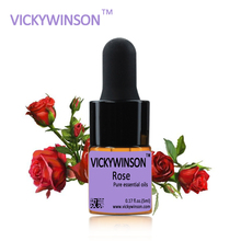 VICKYWINSON Rose essential oil 5ml  100% Natural Essential Oils Moisturize Hydrating Whitening Pure WD26