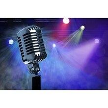 купить Yeele Microphone Colorful Flash Sing Stage Backdrop Photocall Photography Background Photographic Backdrop For Photo Studio дешево