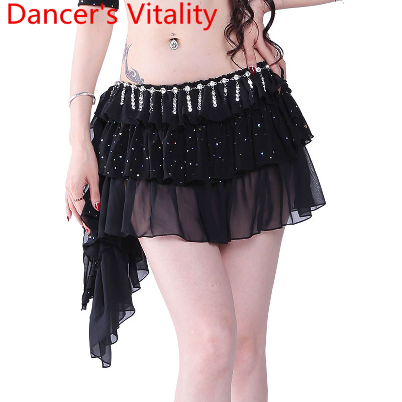 New Belly Dance Short Skirt Clothes For Woman Belly Dance Skirt Belly Dancing Costume S,M, L,