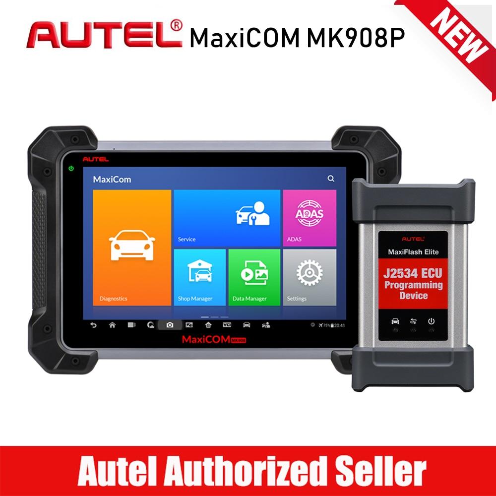 Autel MaxiCOM MK908P Professional Automotive Diagnostic Tool Car Scanner ECU Cod